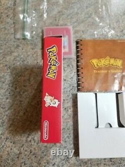 Pokemon Red Version Authentic Game Boy Charizard Complete In Box Not Sealed Mnty