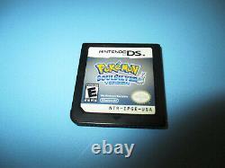 Pokemon Soulsilver Soul Silver Authentic (nintendo Ds) Lite Dsi XL 3ds 2ds Jeu