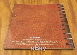 Pokemon Version Bleu (game Boy, 1998) Complète Dans L'encadré Cib Authentique