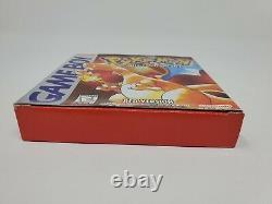 Pokemon Version Rouge (game Boy, 1998) Cartouche De Jeu Box Non Seulement Manuel Authentique