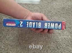 Power Blade 2 Nes Nintendo Cartouche De Jeu, Boîte Et Manuel 100% Authentique Cib