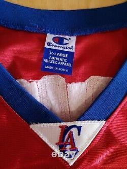 Rare Authentique Nba Jeu Jersey Champion La Clippers Lamar Odom Sz 48