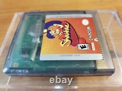 Rare Shantae Testé Authentique Nintendo Gameboy Couleur Gbc Sauve