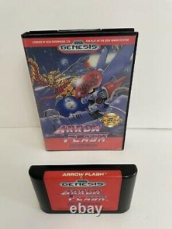 Sega Genesis 12 Jeux Lot Tous Les Problèmes Authentiques Originaux Tireur Flèche Flash +10
