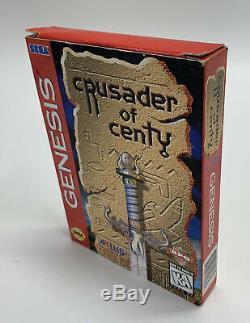 Sega Genesis Croisé De Centy Jeu Vidéo, Complet Dans L'encadré, Testé, Authentique