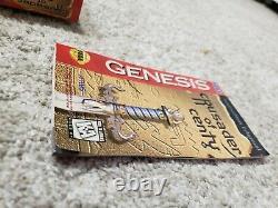 Sega Genesis Grail Crusader Of Centy Cib 100% Authentique