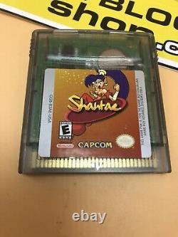 Shantae 2002, Gameboy Color Gbc, Authentique, Testé, Excellent État