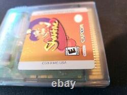 Shantae (game Boy Color, 2002) Panier Seulement Authentique Authentique