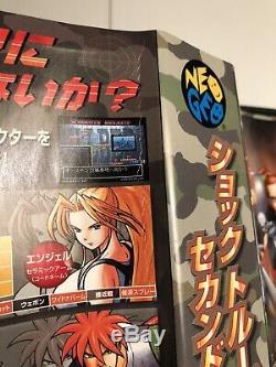 Shock Troopers 2ème (deuxième) Squad Neo Geo Aes Authentique Japon Homecart