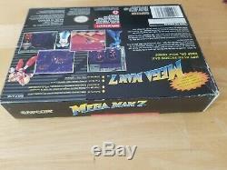 Snes Authentique Mega Man 7 Box Vintage Original