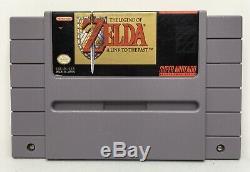 Snes The Legend Of Zelda A Link To The Authentique / Nettoyé / Testé Passé Saves