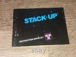 Stack Up Complète Nintendo Nes Complète Cib Accrocher Tab Authentique