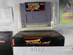 Street Fighter II 2 Turbo (super Nintendo, Snes) Complet Dans La Boîte Cib Authentic
