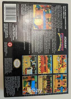 Sunset Riders (super Nintendo, 1993) Snes Complete Authentic Box Manual Game