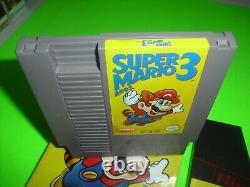 Super Mario Bros 3 Complet Dans La Boîte Bonne Cond Pour Nes! Gauche 1ère Impression Authentique