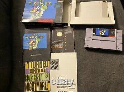 Super Mario World (nintendo Snes, 1992) Cib Authentic