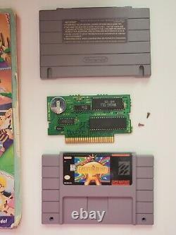 Super Nintendo Snes Leound De La Terre Testé Par Super Nintendo Snes