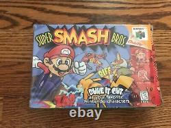 Super Smash Bros. N64 Authentic Cib (nintendo 64, 1999)