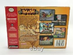 Super Smash Bros( Nintendo 64 N64, 1999) Complet Dans La Boîte Cib Authentic