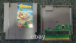 The Flintstones The Surprise At Dinosaur Peak Nintendo Nes Authentic Rare Cart
