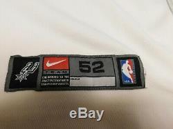 Tim Duncan San Antonio Spurs Nike Authentic Jersey Taille XXL Nba 52 Jeu 2003 2xl