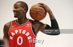 Toronto Raptors Cj Miles Nike Portés Délivré Jersey Authentique Utilisé Cut Pro