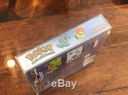 Version Cristal Pokemon (game Boy Color) Nintendo Complète De Authentique Avec Boîte