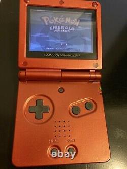 Version Emeraude De Pokemon (game Boy Advance, 2005) Complete Cib Authentic