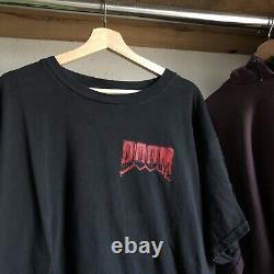 Vintage 90s Doom T-shirt Jeu Vidéo Promo Logiciel ID Sz X Large Authentic