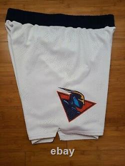 Vintage Mens Starter Golden State Warriors Jeu Authentique Publié Shorts Taille 38