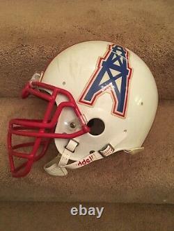 Vintage Rare Riddell Af-2 Houston Oilers Authentic Game Used Football Helmet