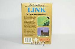Zelda II L'aventure Du Lien Nes Complet Dans La Boîte Cib Authentic Bon État