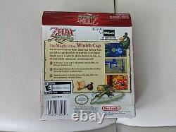 Zelda The Minish Cap (nintendo Gameboy Advance Gba) Complete In Box Authentic